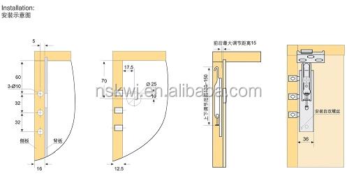 Superb Heavy Duty Steel Wall Cabinet Hanging Bracket