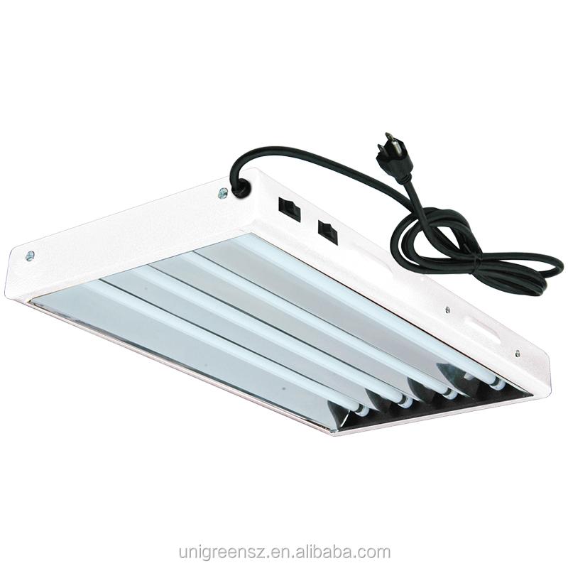 2x4 T5 Fluorescent Grow Light Fixture Reflector - Buy Fluorescent ...