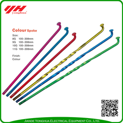 Hot Sale mtb colored bicycle spokes