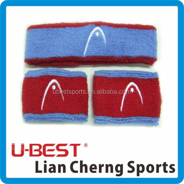Cotton Terry wrist head sweat band for child kids