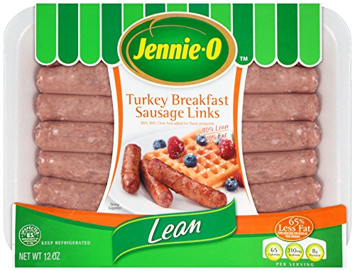 Jennie-O, Turkey Breakfast Sausage Links, 12 oz
