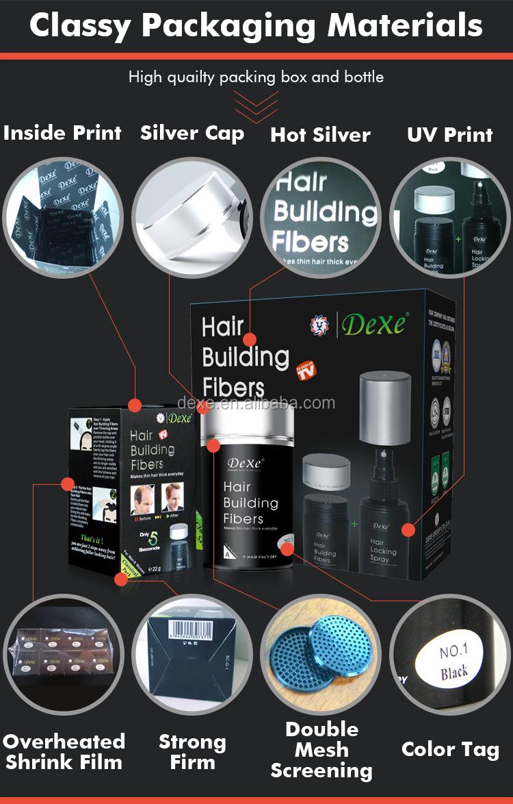 Maak Je Eigen Merk Hair Building Fiber Japanse Poeder Haarverf