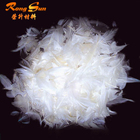 Bedding and clothing 4-6cm goose feather & White Sticky Washed goose feather