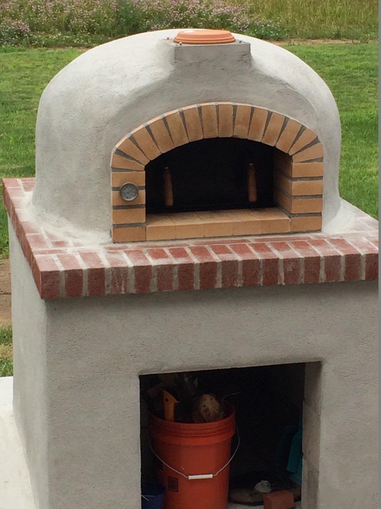 Pizza Oven Build
