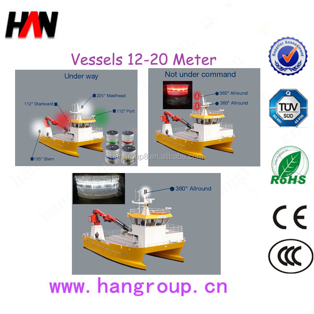 Oem Marine Navigation Light Control Panel And Led Circuit Design Boards Round Pcb Manufacturer