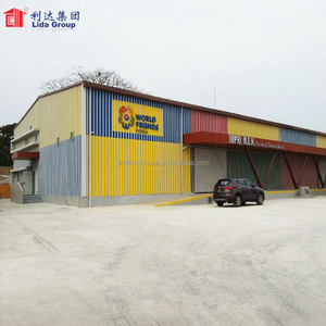 Two story steel structure warehouse for sale