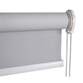 Outdoor Sun Block Curtain Roll Up Shade Sunscreen Blinds Fabric