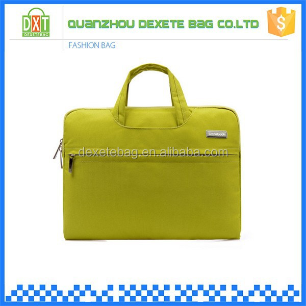 Beautiful color polyester low price miracle laptop bags