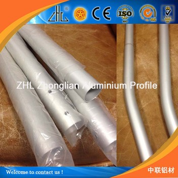6063 aluminum pipe bending / round thin wall aluminum tube profile for aluminum bend tube 90 & 6063 Aluminum Pipe Bending / Round Thin Wall Aluminum Tube Profile ...