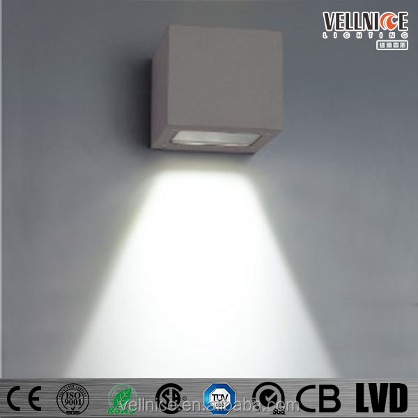 3x1w Led Outdoor Wall Washer Light Fixture Downside
