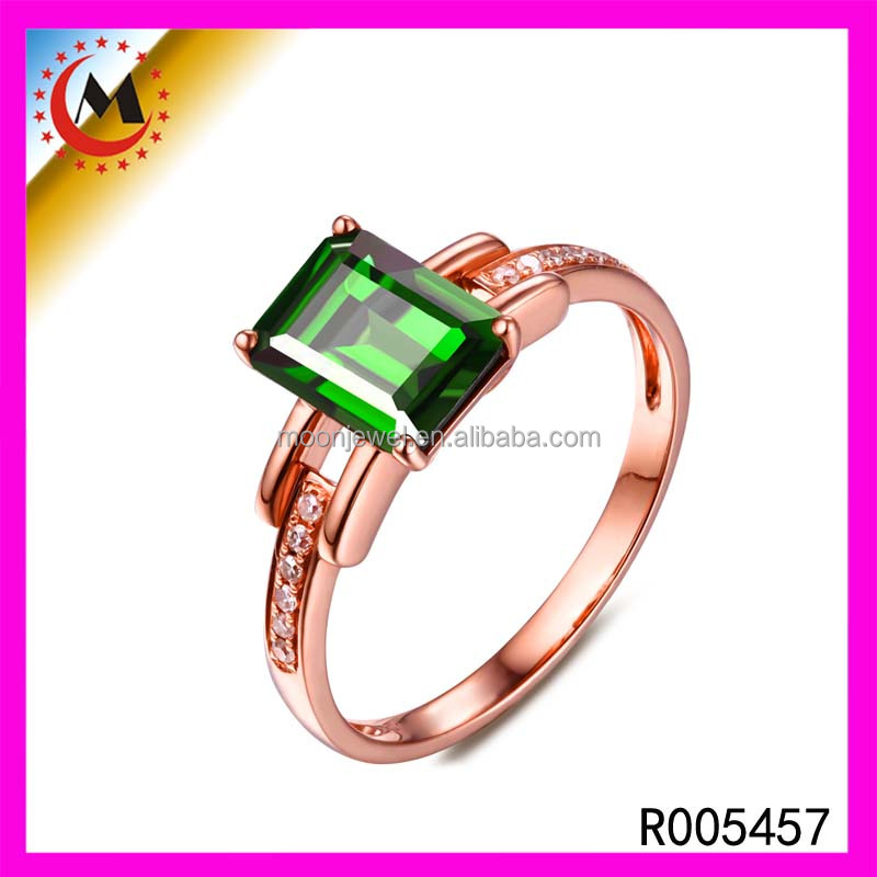 New Style Product Blue CZAAA Crystal Ring Big Purple Zircon Charm Ring, Fashion Jewelry Copper Diamond Ring