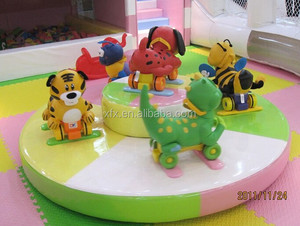 Hot sale Round Revolving Rider Electrical Game Indoor Play for sale