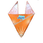 China manufacturer customized printing promotional advertising scarf headwear triangle bandana
