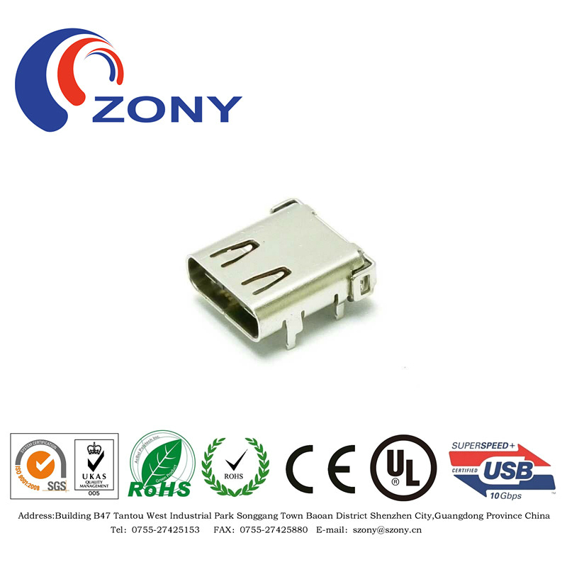Very good quality USB type C female 3.1 connectors