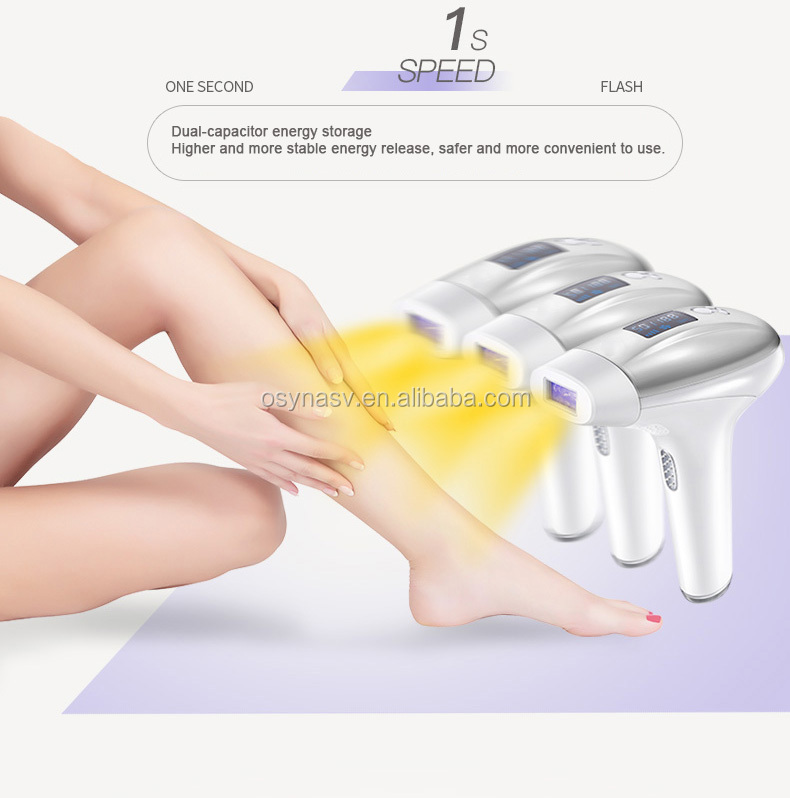 2 in 1 IPL Laser Epilator Hair Removal Electric Depilador a Laser Hair Remover Machine with LCD display