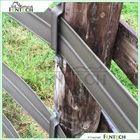 High impact flex cheap easy to install horse fence