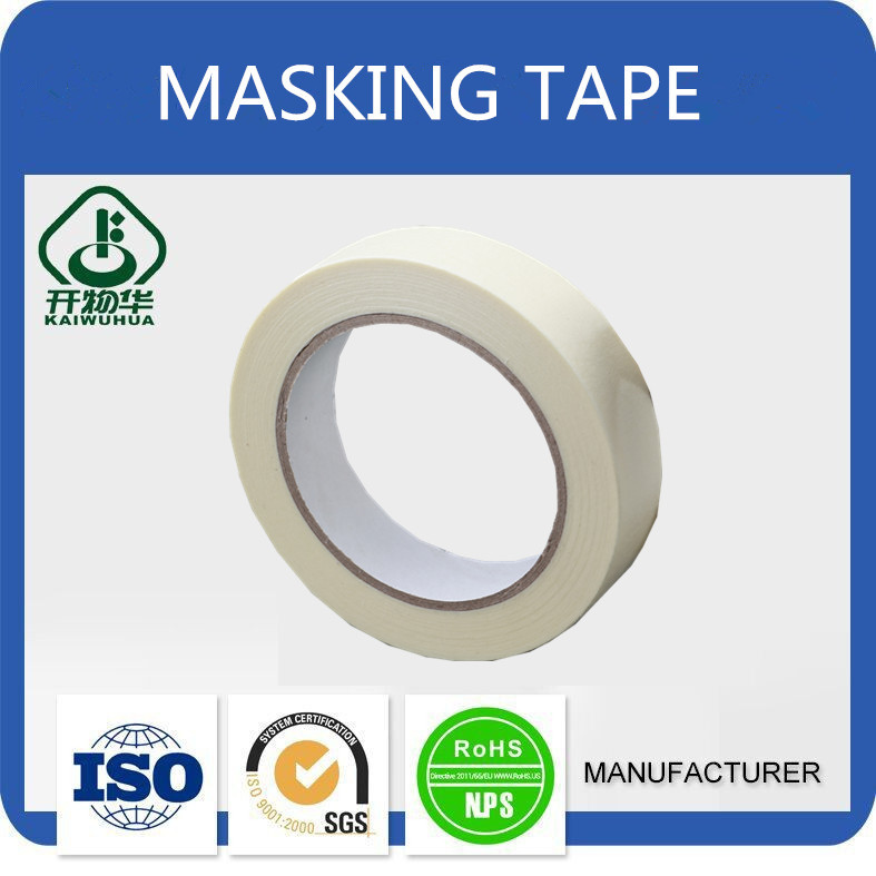 Customized color good price protecting crepe paper masking tapes for wholesales