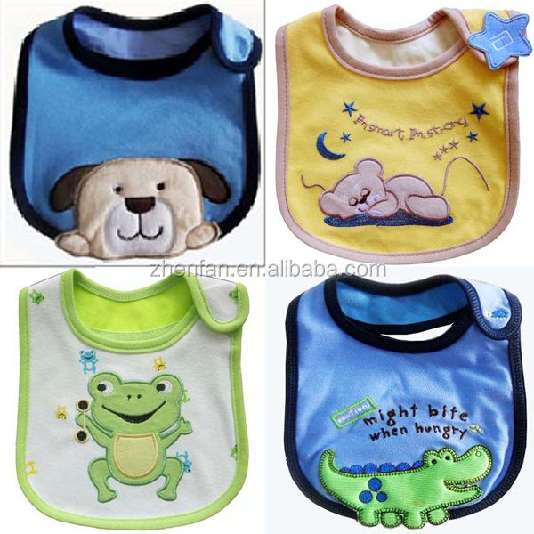 Printed Animal Design Baby Bib