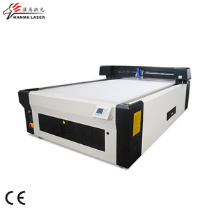 HM-J1325 Automatic CNC CO2 Laser 3 mm Steel/Carbon Steel Metal&Non-metal Cutting Machine/Cutter from china laser machinery
