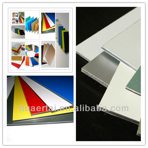 High quality building materials aluminium composite panel home decoration construction materials price list advertising bench