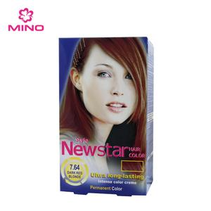 NEWSTAR Germen Hair Coloring 7.64 DARK RED BLONDE