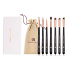 Liya 7pcs Makeup Brushes Set Professional Eyeshadow Blending Brush Soft Hair Make Up Eye Brushes