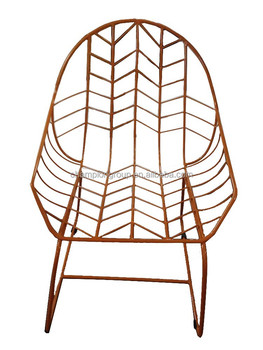Tim Holley Colorful Outdoor Metal Wire Chair