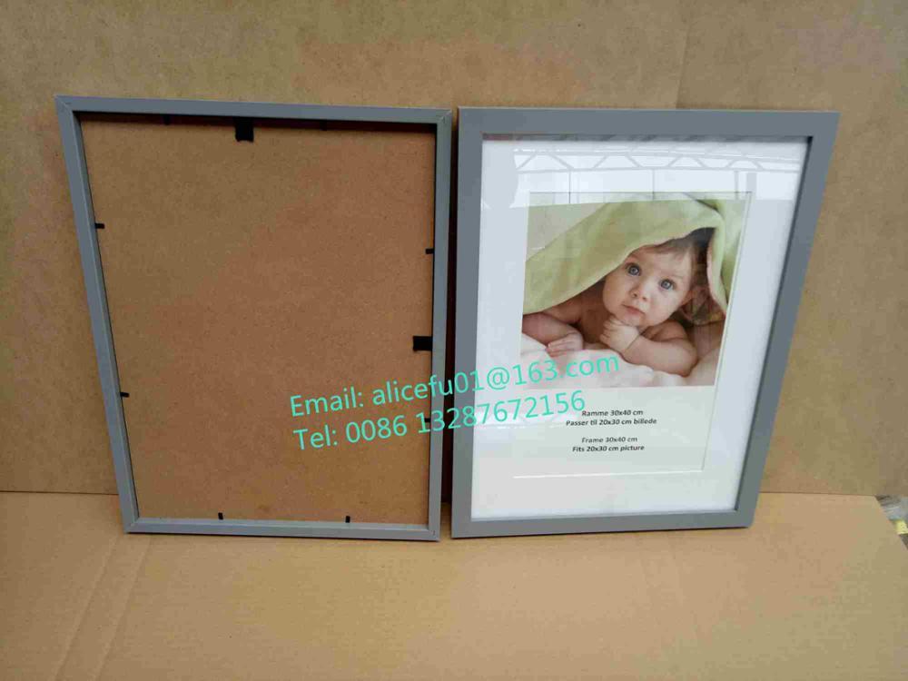 Inicio decorativo 13x18 18x24 21x29.7 30x40 cm color de madera ...