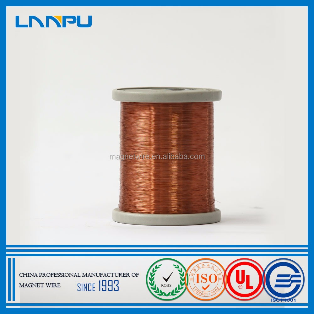 0.04mm Triple Insulation Magnet Wire Super Polyester SWG Enamelled Copper Wire Red