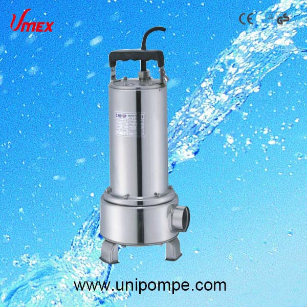 QDX -B series New design inox sewage pumps, stainless steel submersible pumps