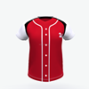 sublimated red baseball jersey baseball jerseys cheap