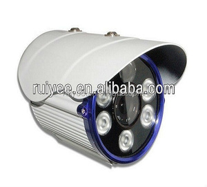 RY-7060 CCTV Outdoor Waterproof Bullet with 6 Units Illuminating IR Array LEDs Security Camera