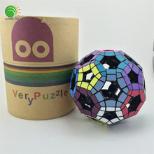 VeryPuzzle 32 surfaces Void Tuttminx Magic Cube football V4 Twist Puzzle Toy
