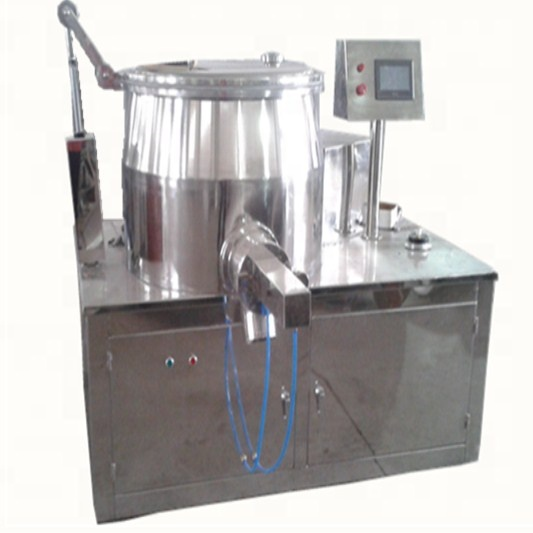 China factory super speed wet mixing granulation machine for pharmaceutical