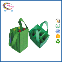 Insulated non woven bag wine bottle bags for 6 six