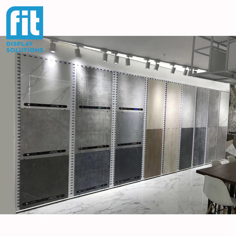 Tile Showroom Display Metal Wall Peg Board Bracket Tile