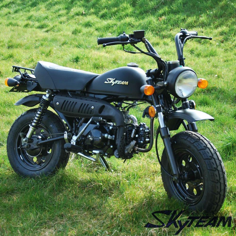 Front Rear Wheel Rim Hub Brake Set Motorcycle For Honda Monkey bike Z50 Z50R Z50J DAX Replica Skyteam