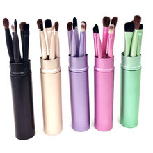 Großhandel 5 PCS Reise Tragbare mini <span class=keywords><strong>make-up</strong></span> pinsel <span class=keywords><strong>set</strong></span> lidschatten Eyeliner Augenbraue <span class=keywords><strong>lippe</strong></span> gesetzt