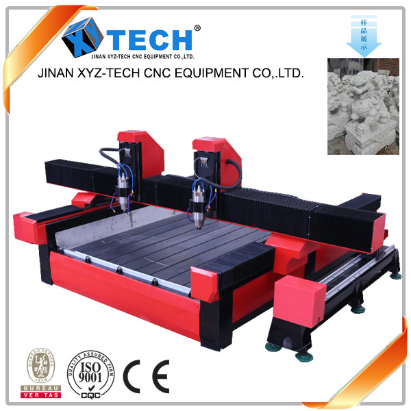 High precision stone cnc router cutting machine for sale of cnc stone carving machine