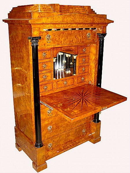 Biedermeier com armadietto di legno id prodotto 128196712 for Mobilia domestica