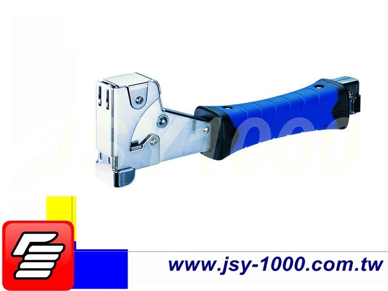 JSY-875 Double Color Heavy Duty Iron Staple Gun Hammer Tacker