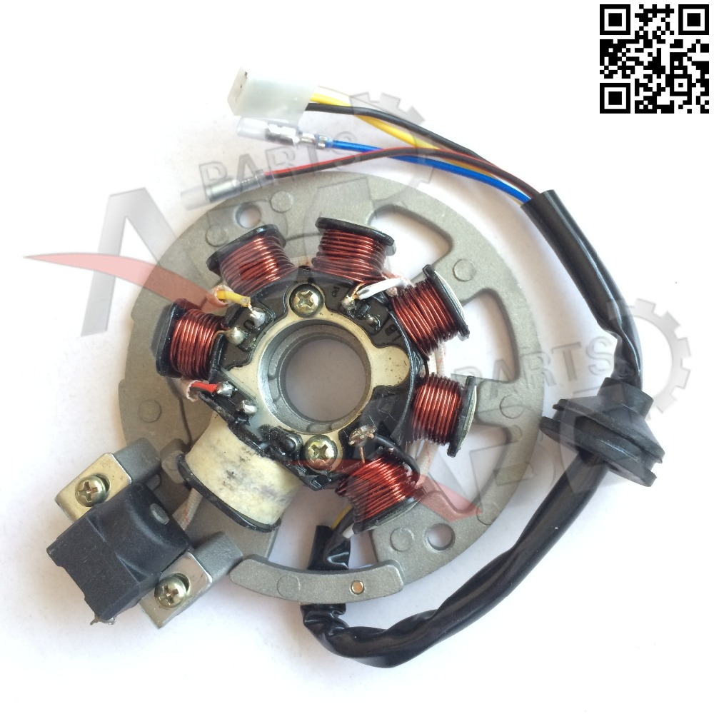 2 Stroke Scooter STATOR MAGNETO 5 Wire For Jog CPI 50cc 90cc Yamaha Quad Bike ATV