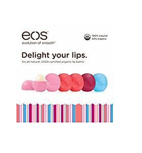eos Organic Smooth Sphere Lip Balm 6 Pack