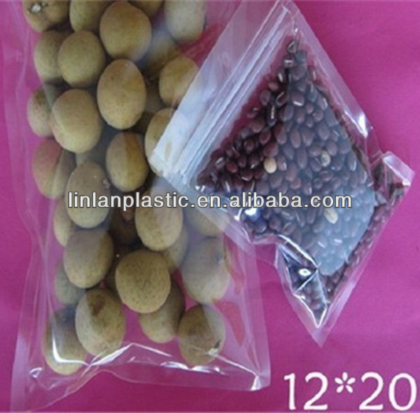 plastic food packaging heat sealable bag