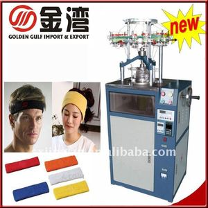 Sports headband knitting machine/Headband machine