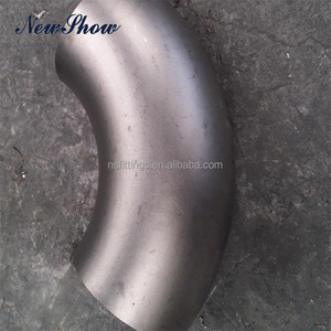 "Tested ANSI B16.9 Seamless SS 304 10"" DN250 BW 90 Degree Elbow"