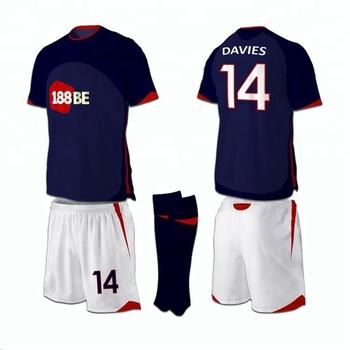 56597e3f2fd Cheap custom soccer sports uniform football shirts Wholesale long sleeve  football jersey for youth