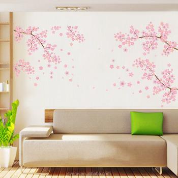 2016new Xl Wall Decals Tree Wall Sticker Sakura Flower Family Tree
