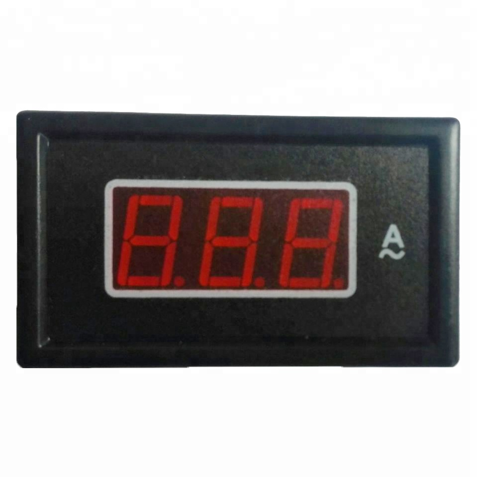 Cina mercato all'ingrosso 85DM-50A AC Red digital display amperometro meter