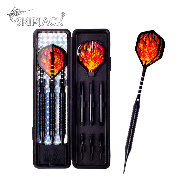customized 18g safety soft dart set with plastic tips